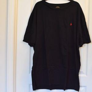 Black Polo Tee size 2XB